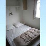 Mobil-home - Chambre lit double
