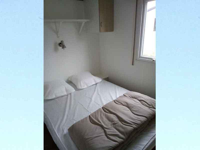 Mobil-home - Chambre lit double